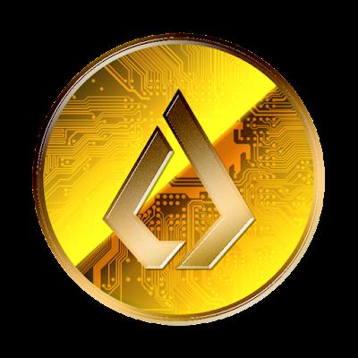 Lisk新デザインverのフリー素材(金貨ver)