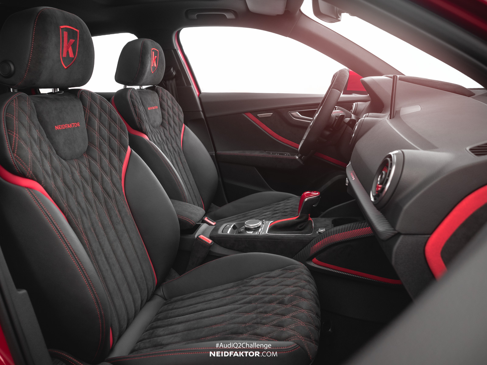 Audi Q2 Gets Interior Overhaul Thanks To Neidfaktor