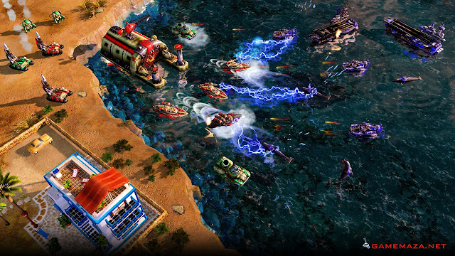 Command & Conquer Red Alert 3 Gameplay Screenshot 3