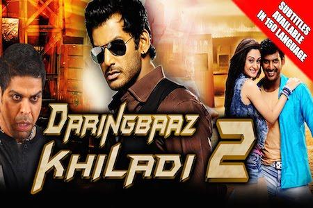 Daringbaaz Khiladi 2 2015 Hindi Dubbed 480p WEB HDRip 400mb