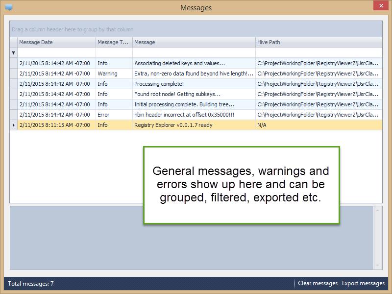 Introducing Registry Explorer | binary foray