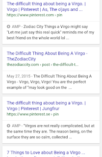 Results for the difficult thing about being a virgo