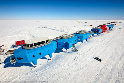 Normal Research Station in Antarctica