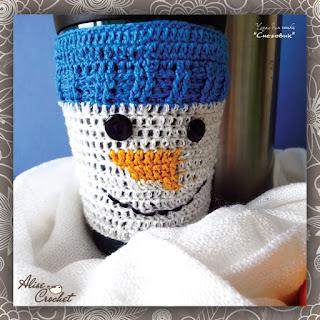 Чехол для чашки Снеговик