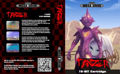 """Novo jogo para Mega Drive- """"Tanzer"""""""