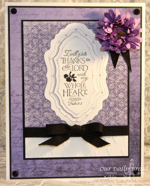 Our Daily Bread Designs, Cherry Blossom, Flourish Label Borders, Asters and Leaves, Vintage Flourish Pattern, Christian Faith Collection, Designed by Robin Clendenning