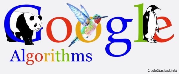 Google Algorithm Panda, Penguin, Hummingbird