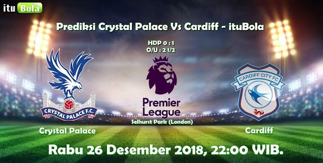 Prediksi Crystal Palace Vs Cardiff - ituBola
