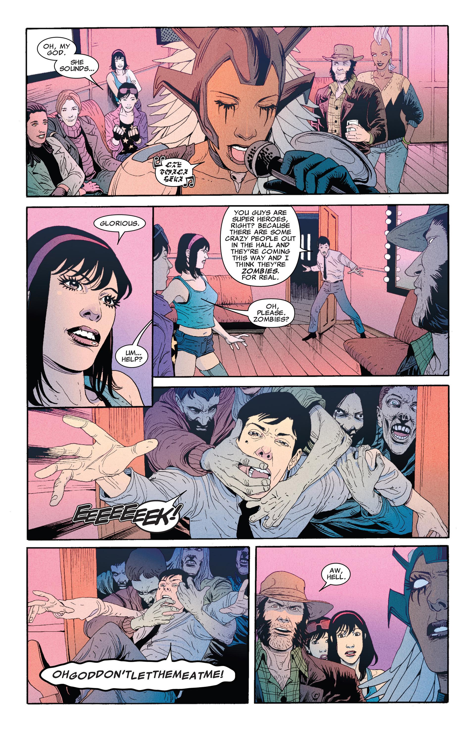 Read online Astonishing X-Men (2004) comic -  Issue #66 - 11