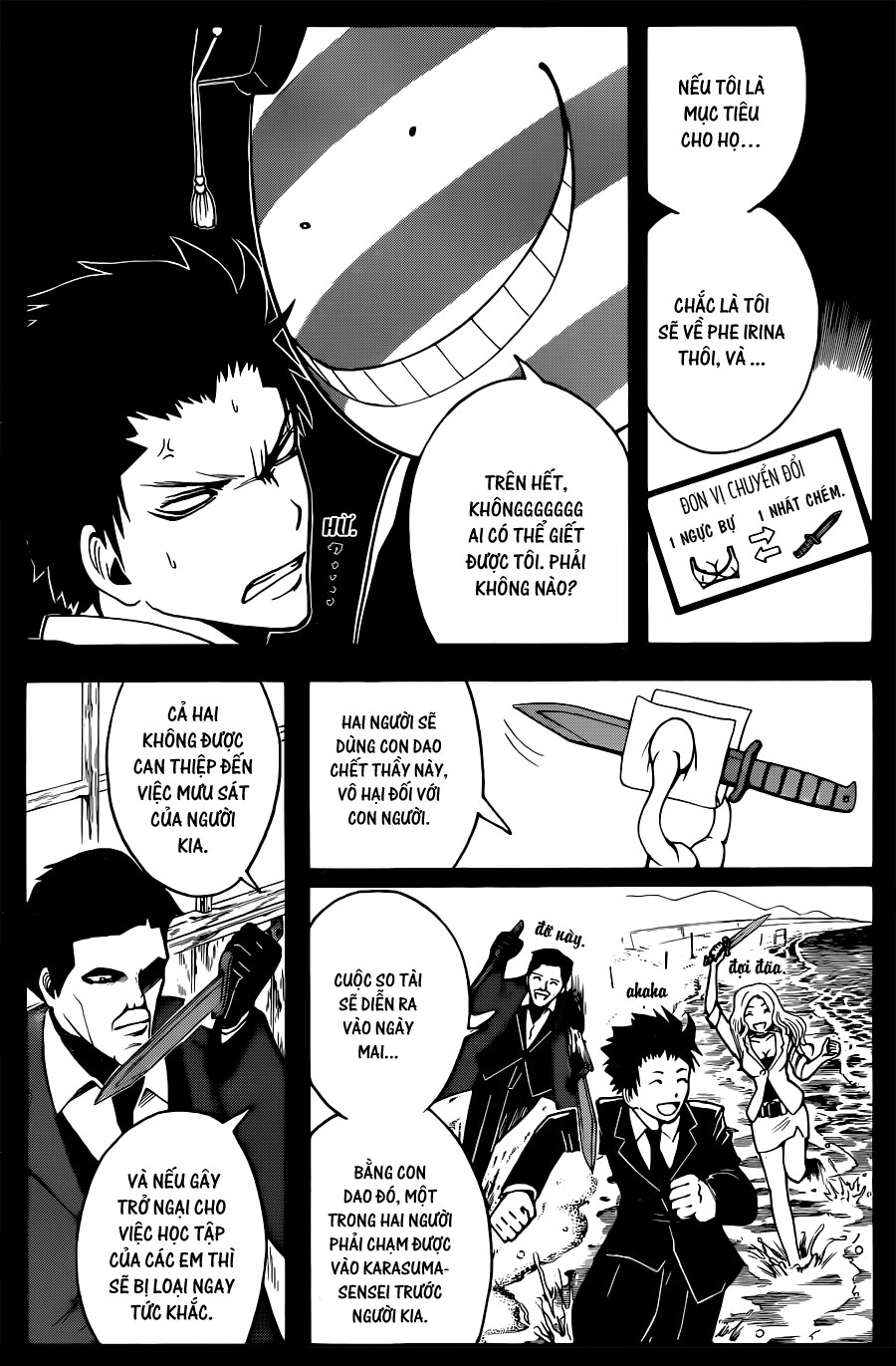 Ansatsu Kyoushitsu chap 26 trang 5