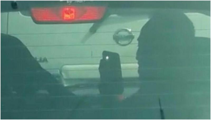 Aksi cabul Ahmad Asri dalam mobil