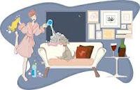 Metodo naturale per divani in tessuto più puliti con acqua e limone