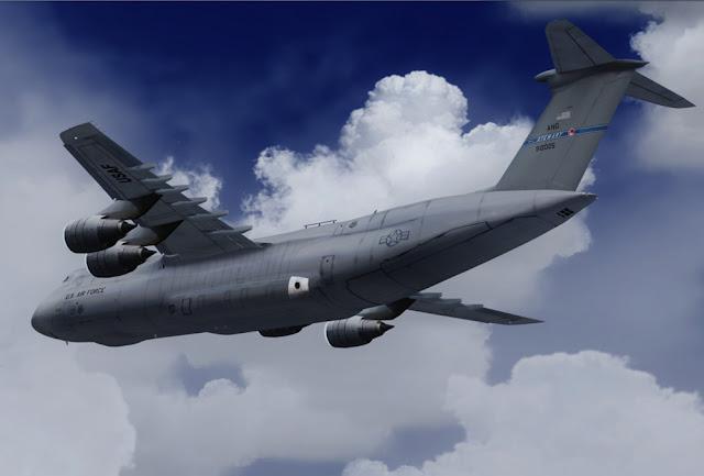 C-5 Galaxy - O maior avião militar