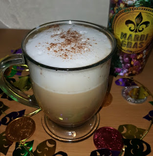 For The Love Of Food Mardi Gras King Cake Latte