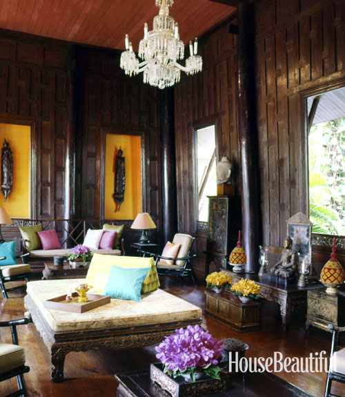Home Design Thailand: The Peak Of Chic®: Legendary Rooms For Americans Abroad