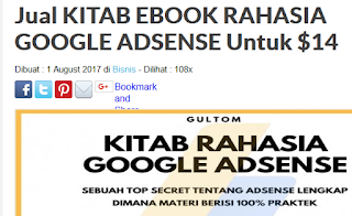 Penipuan beli ebook kitab rahasia adsense6
