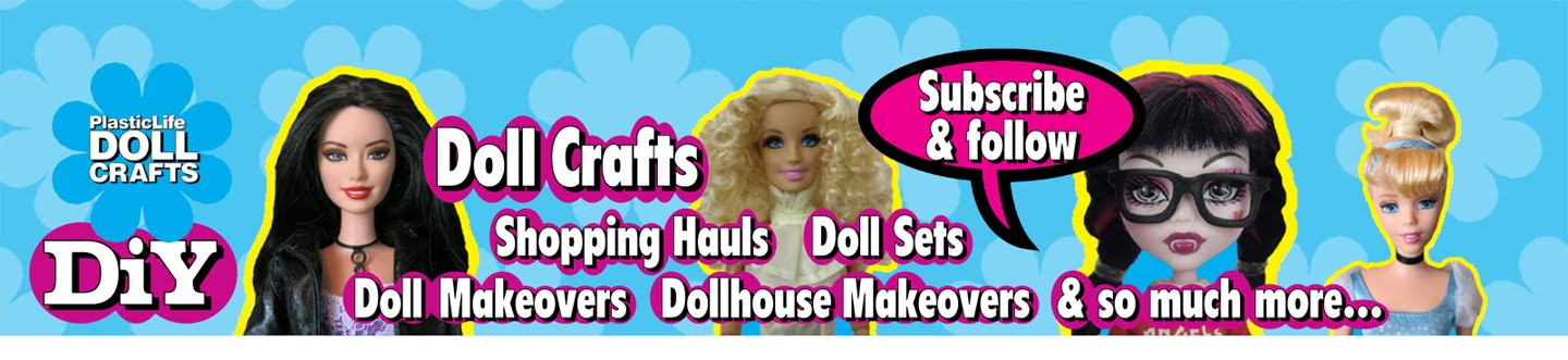 Plastic Life Doll Crafts