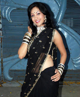Gurleen Chopra in sareee