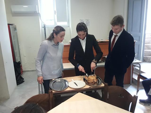 Μαθήματα εξειδικευμένης Εστιατοριακής τεχνικής στην Τουριστική Σχολή Άργους