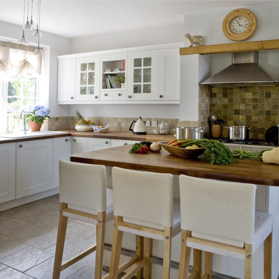 New Home Interior Design: Country kitchen-diner