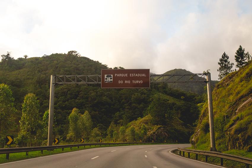 estrada BR 116
