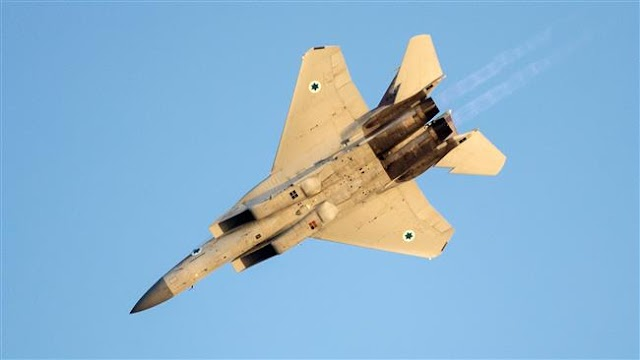 Israeli warplanes target cannons in Syria's Golan Heights
