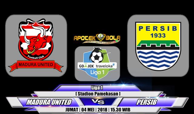 Prediksi Madura United vs Persib Bandung 4 Mei 2018