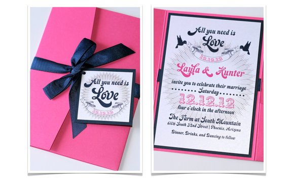 Wedding invitations style