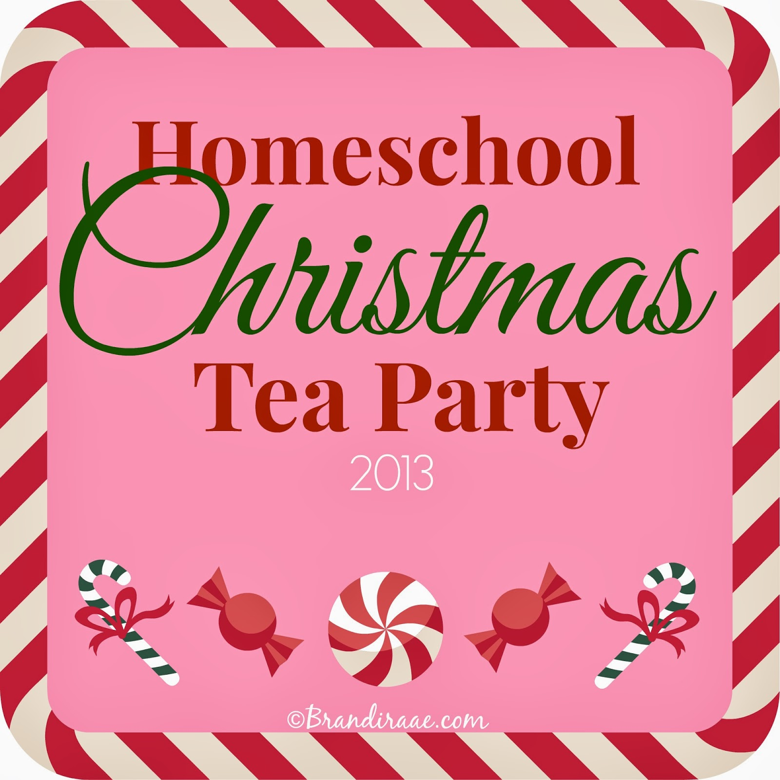 Christmas Tea Party Ideas: Brandi Raae: Homeschool Christmas Tea Party