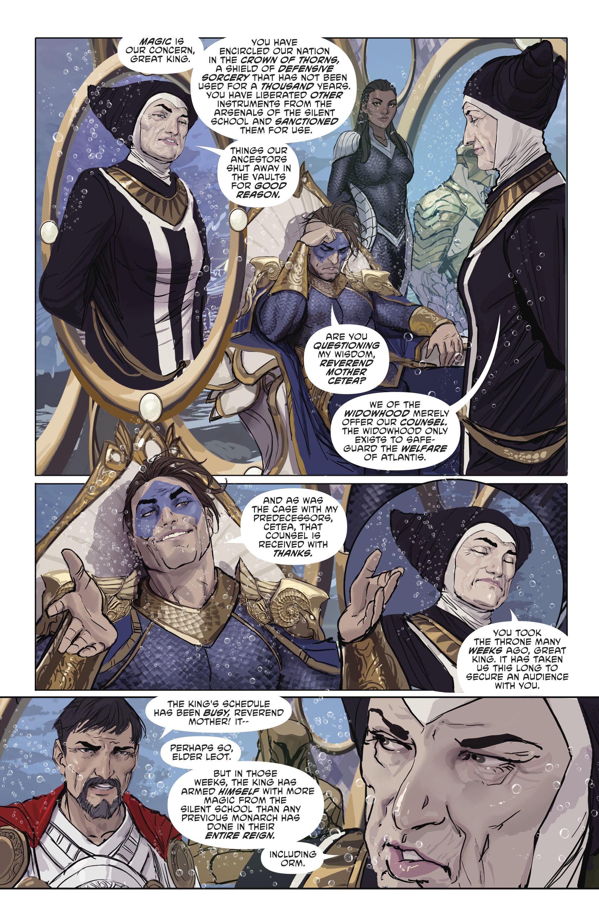 Read online Aquaman (2016) comic -  Issue #25 - 16