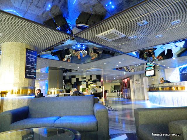 Recepção do Hotel HF Fênix Porto - Portugal