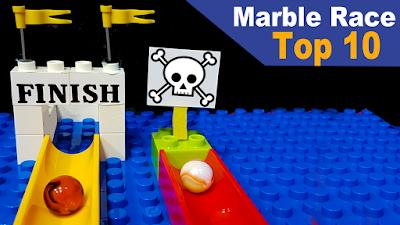 Top 10 Corridas de Bolinhas de Gude - Melhores momentos - Marble run