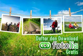 Cara Daftar dan Download Fotolia