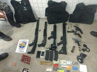 Polícia prende parte da quadrilha que assaltou o Banco do Brasil de São Joaquim do Monte nesta sexta (30)