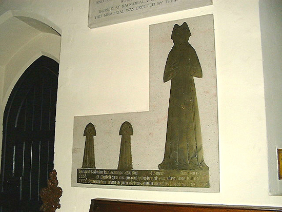 Photograph of Photograph of The headless children of St Mary's Church, North Mymms Image by David Brewer released under Creative Commons BY-NC-SA 4.0
