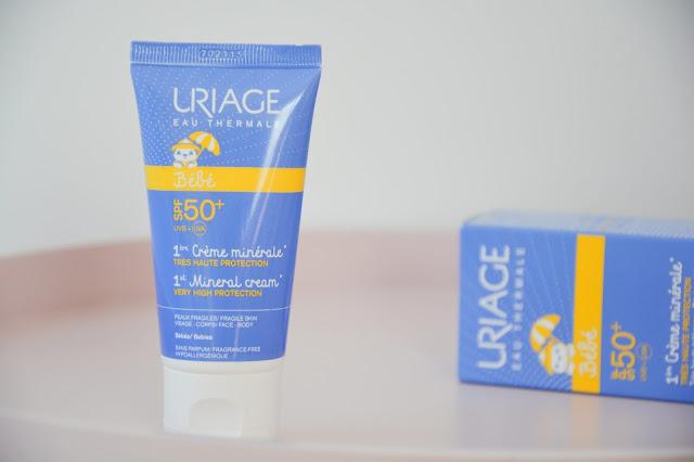 1ere crème minérale Uriage