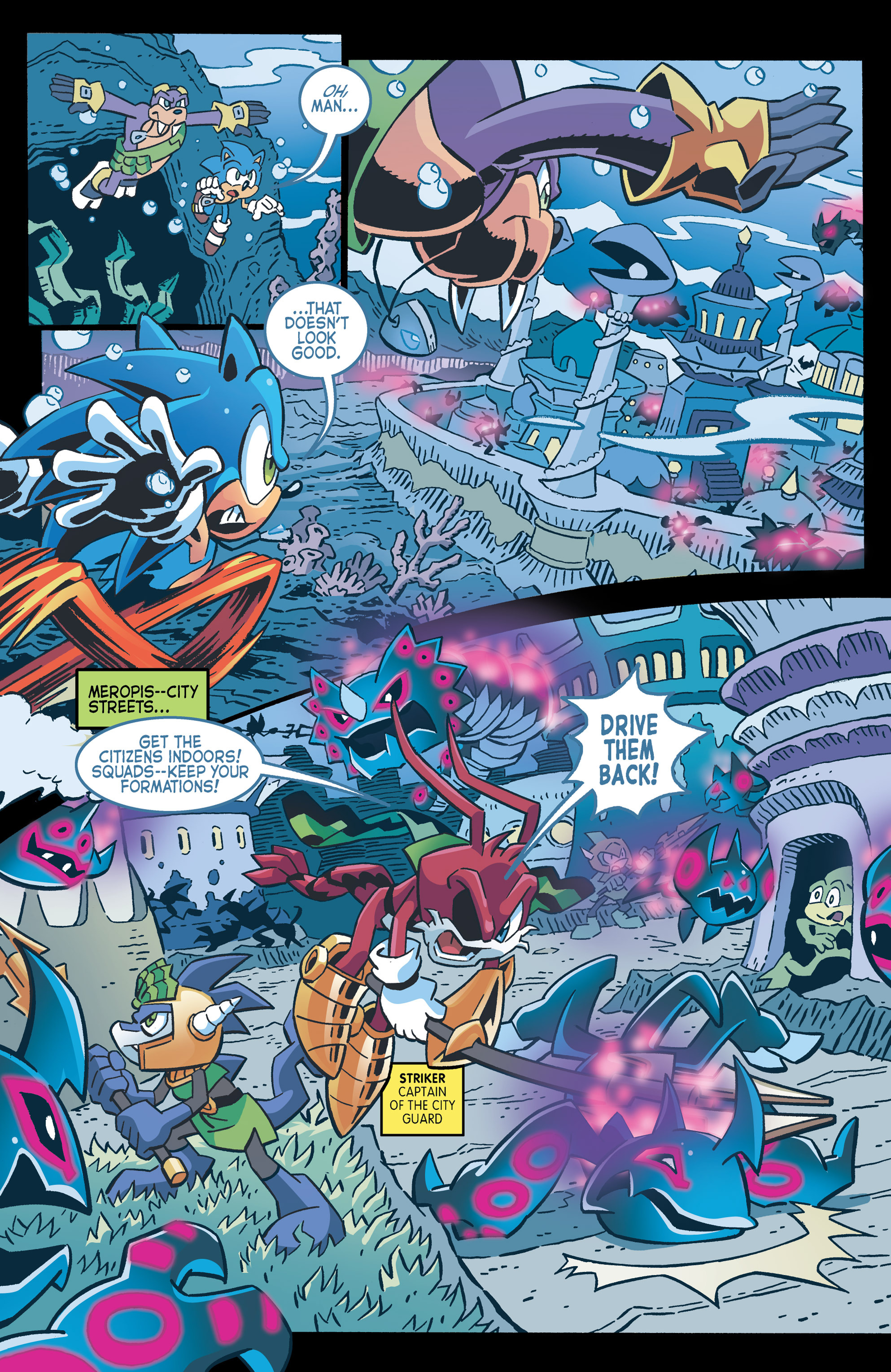 Read online Sonic The Hedgehog comic -  Issue #262 - 6