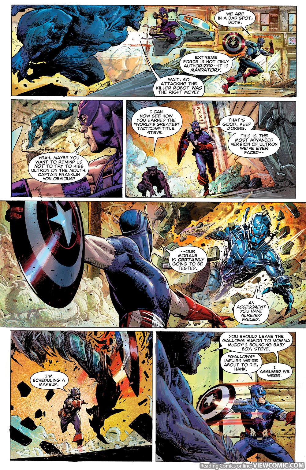 Avengers – Rage of Ultron (2015) …………… | Viewcomic reading