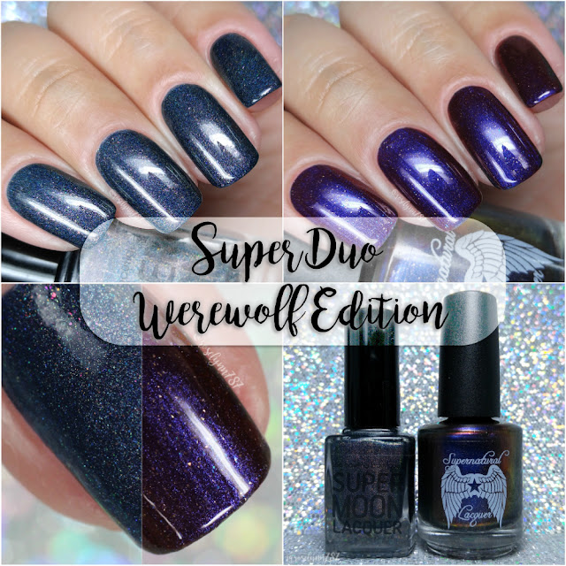 Supermoon Lacquer & Supernatural Lacquer - Super Duo: Werewolf Edition