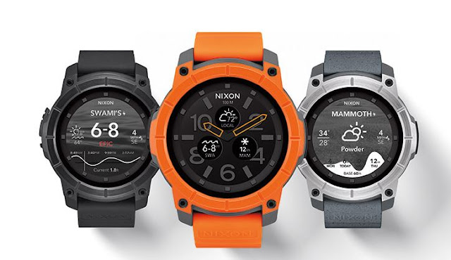 Nixon The Mission smartwatch, android smartwatches, best smartwatches, top smartwatches, smart watches, GPS Watch, GPS Smartwatch, sport watches
