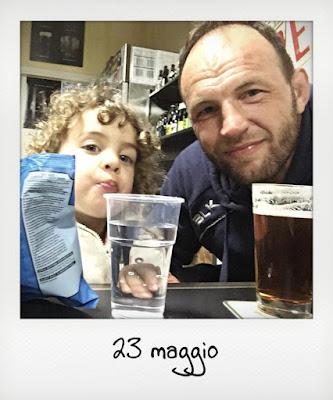 Weekend solo con il papà, in birreria