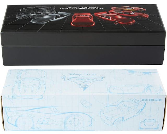 2017 SDCC exclusive Making of Lightning McQueen die cast set box