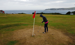 Mini Golf at Onchan Pleasure Park in Onchan, Isle of Man