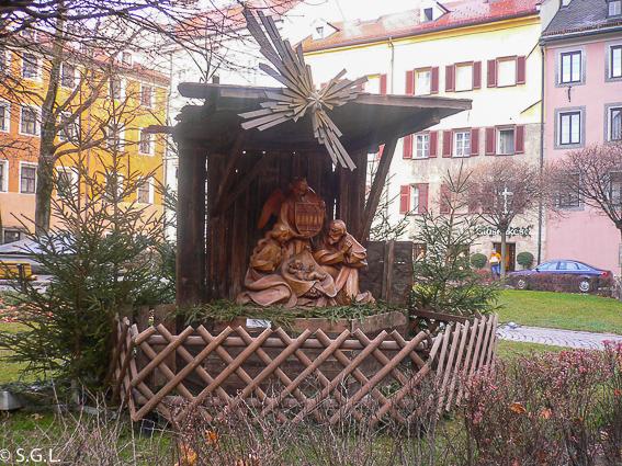 Belen en Innsbruck. 4 Destinos para viajar en Navidad