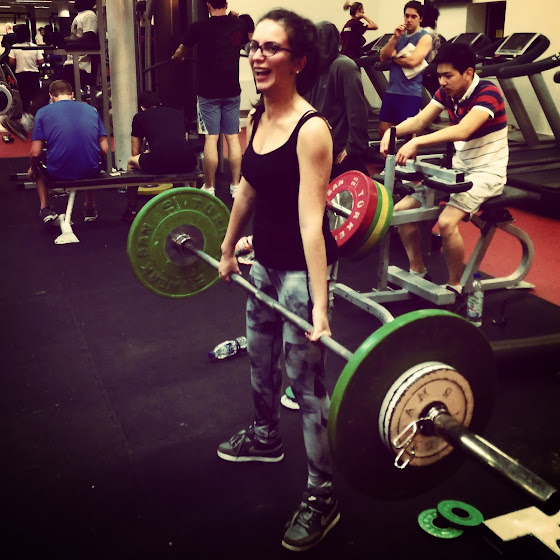 Deadlifts 60kgs