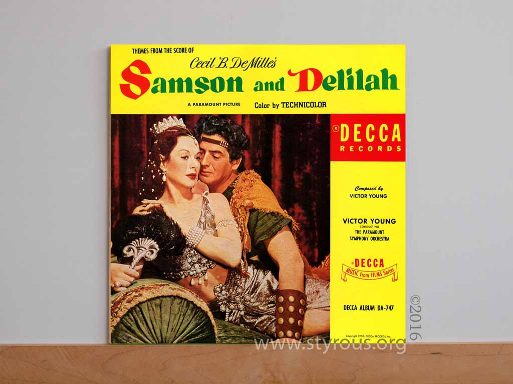 the styrous viewfinder 20 000 vinyl lps 62 samson and delilah