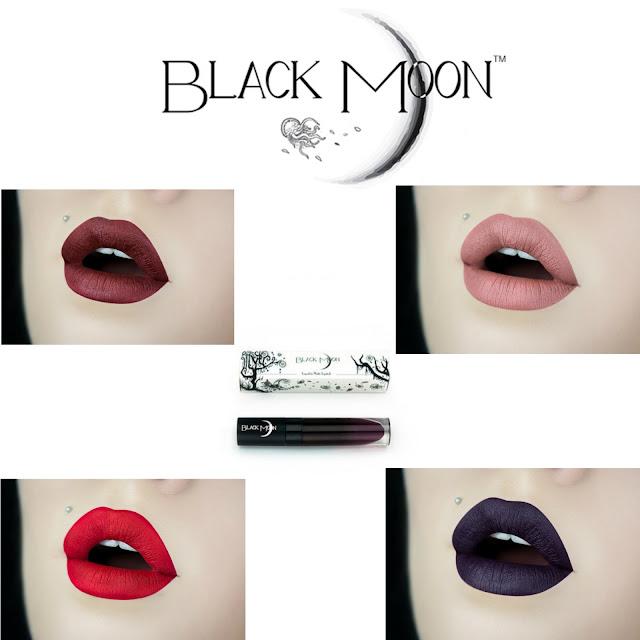 LABIALES BLACK MOON COSMETICS