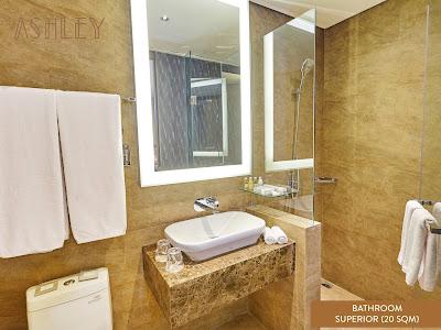 kamar mandi hotel ashley jakarta