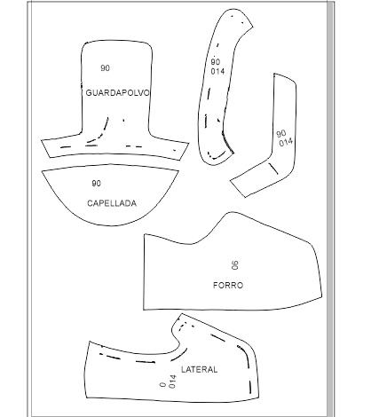 Molde Calzado Para Hacer Zapatos De Mujer
