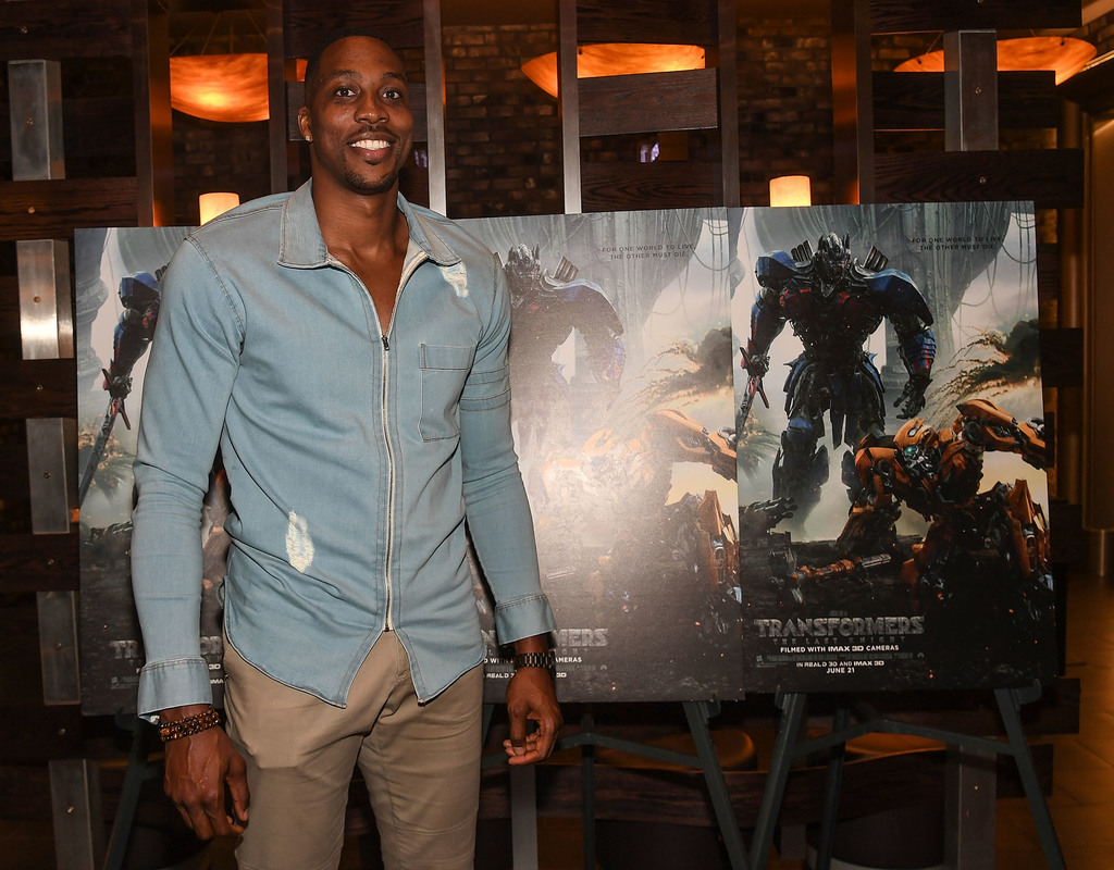 Dwight Howard Hosts TRANSFORMERS: THE LAST KNIGHT Private Screening in Atlanta  via  www.productreviewmom.com